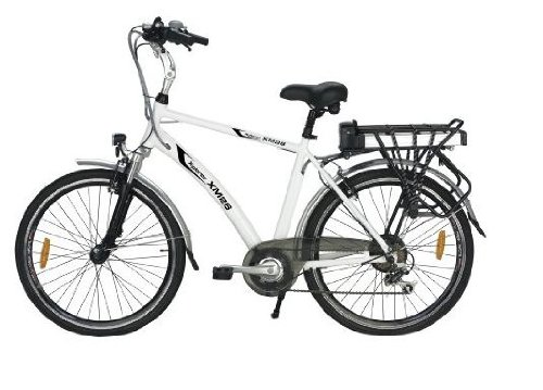 Yukon Trails Men's  Xpolrer Sport Hybrid Electric Bike (26-Inch)