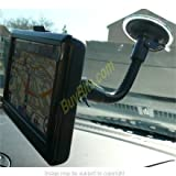 Bendy Suction Cup Car Windscreen Mount for Garmin Nuvi 1490 1490t with FREE Dash Disc
