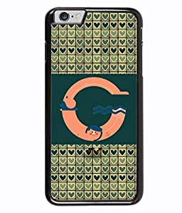 Printvisa 2D Printed Alphabet G Designer back case cover for Apple I Phone 6 - D4257