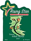 2012 Rising Star White Merlot, Texas 750 mL
