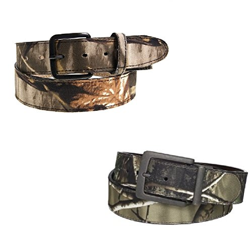 2 Camo Belts Men'S & Kids Assorted Styles Realtree Mossy Oak Hunting Camouflage front-915321
