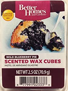Better homes gardens scented wax melts limited edition for 2014 wild blueberry for Better homes and gardens wax melts