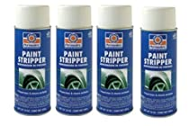 4 Cans Permatex Decal And Paint Stripper And Bumper Sticker Remover
