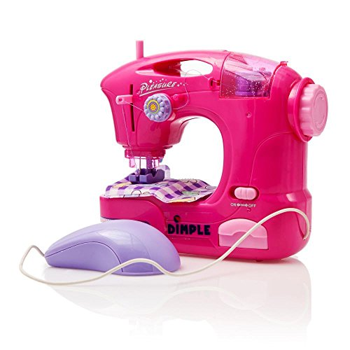 Children's Sewing Machine Toy with Accessories and Hand Pedal by Dimple (Toys Sewing Machine compare prices)