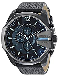 Diesel Chi Analog Black Dial Mens Watch - DZ4323
