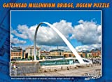 The Gateshead Millennium Bridge 1000 Piece Jigsaw Puzzle (New Edition)