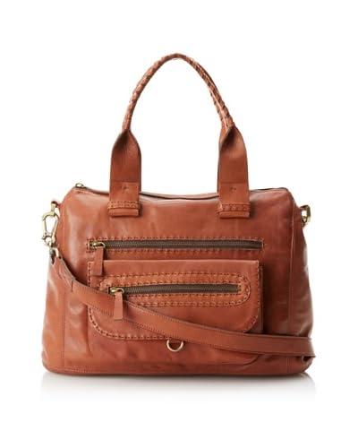 Carla Mancini Women's Billie Satchel, Luggage