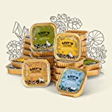 Scrumptious, Wholesome, Artisan Naturally Hearty Lily's Kitchen Gourmet Purrrrfect Organic Cat foil selection, 7 of each: Chicken, Lamb, Fish and Turkey