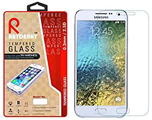 Raydenhy 2.5D Curved Edges 0.33MM Thickness Tempered Glass For Samsung Galaxy E7