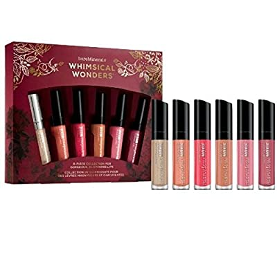 bareMinerals WHIMSICAL WONDERS 6pc Collection for Gorgeous, Glistening Lips