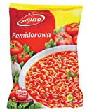 Amino Instant Tomato Soup with Noodles 61 g (Pack of 24)