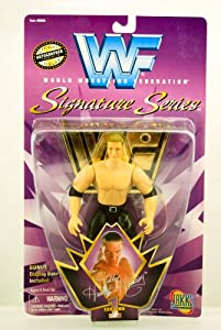 WWF - 1997 - Signature Series - Triple H (HHH) - Hunter Hearst Helmsley Action Figure - Official Autographed Facsimile Figure - Bonus Display Base - Jakks - Limited Edition - Collectible