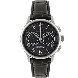 Dreyfuss and Co DGS00094/10 Mens Chronograph Black Leather Strap Watch