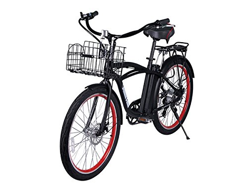 X-Treme Scooters Newport Beach Crusier Lithium Electric Powered e-Bike (Black) (Motor Assisted Bicycle compare prices)