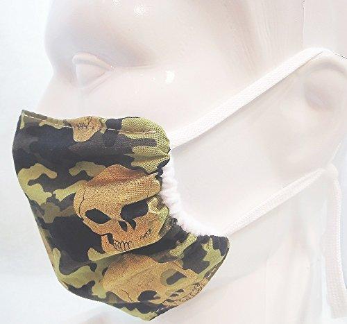 Camo Style Face Mask 2 Pack Comfortable Reusable Face