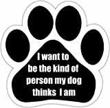 E&S Pets 13125-174 Dog Car Magnet
