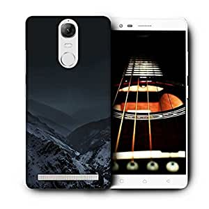 Snoogg Nature Earth Dark Printed Protective Phone Back Case Cover For Lenovo K5 Note