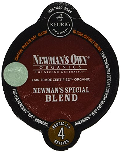 Newman's Own Organics Keurig Vue Pack, Newman's Special Blend, 32 Count (Keurig Coffee Newmans compare prices)