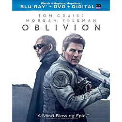 Oblivion (Blu-ray + DVD + Digital Copy + UltraViolet)