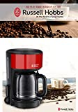 Russell Hobbs Coffee Maker Espresso Machine Red 10~15Cups RH-20131R