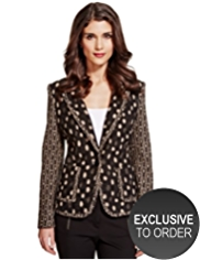 Per Una Wool Rich Jacquard Jacket