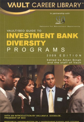 Vault/SEO Guide to Investment Bank Diversity Programs