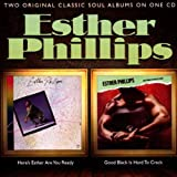 echange, troc Esther Phillips - Here'S Esther...Are You Ready - Good Black