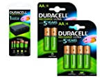 Duracell Multi-Battery Charger & 8 AA...