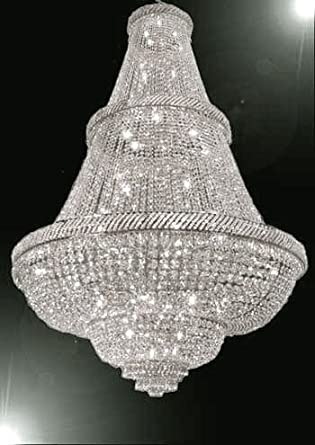 Sale French Empire Crystal Chandelier Lighting 6ft Tall