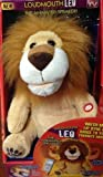 Loudmouth Leo the Lion Animated Speaker Lip Syncs & Dances, Plugs into any 3.5mm Device - For Phone Calls / Works With All iPhones / iPhone 5c And 5s / All iPad's / iPad Air And iPad Mini / iTouch and iPod / Nexus / Samsung Galaxy Note And Tab / Samsung Galaxy S5 S4 S3 S2 / All Phones, Computers, and MP3 Players