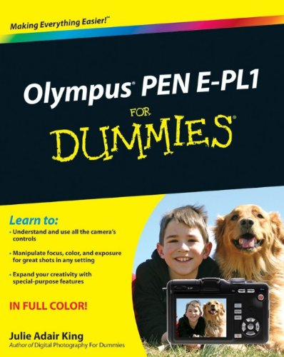 Olympus PEN E-PL1 For Dummies (For Dummies (Computer/Tech))