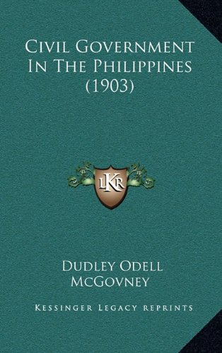 Civil Government in the Philippines (1903)
