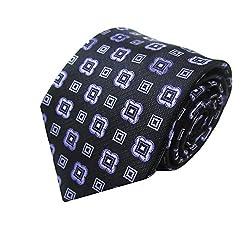 Rossini Men's Tie (UFAM19_Purple_Free Size)