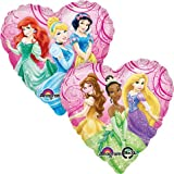 Disney Princess Pink Heart Shaped 2-Sided 18