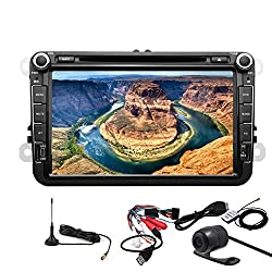 See Pupug Android 4.2 OS Car GPS DVD Player Wifi In Dash Stereo Radio Digital TV 8 Inch For Volkswagen VW Details