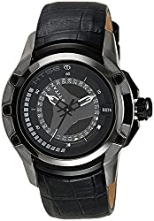 Titan HTSE Analog Black Dial Mens Watch - NE1540KL02