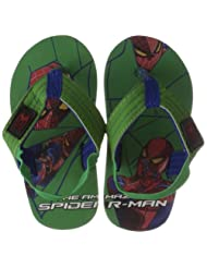 Spiderman Boys Plastic Flip-Flops And House Slippers - B00IXC8NTW