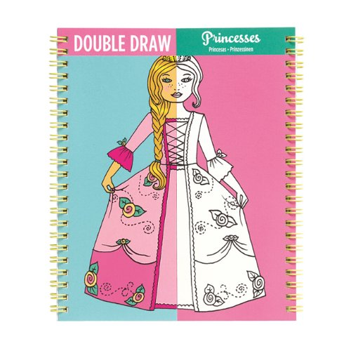 Mudpuppy Princesses Double Draw