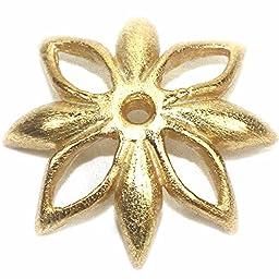 Amoracast Exclusive Gold Vermeille Flower Cap