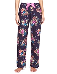Limited Collection Pure Cotton Floral Pyjama Bottoms