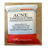 Nu Pore Acne Moisturizing And Cleansing Towelettes 25 Count