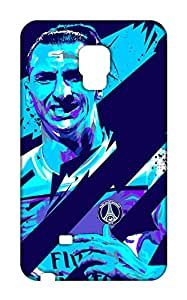 Samsung Galaxy Note Edge Manchester United Football Club Design Back Cover - Printed Designer Cover - Hard Case - SGNECMBMUFC0132