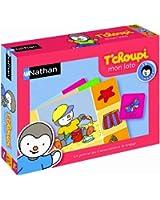 Nathan - 31000 - Jeu de société - Jeu éducatif - Loto T'choupi