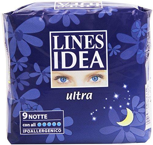 Lines - Idea Ultra, Assorbenti - 9 Pezzi