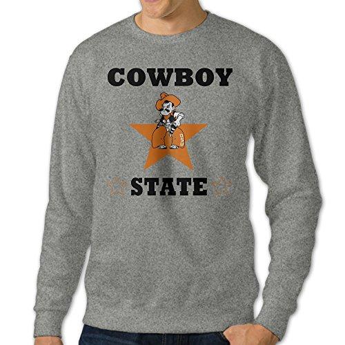 [GBABY3 Men's Crew-Neck Oklahoma University Sweatshirt Size S] (Pepsi Costume Halloween)