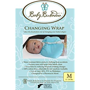 Baby Bubadoo's Diaper Changing Wrap