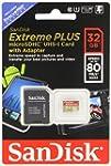 SanDisk Extreme Plus 32 Go Carte m�mo...