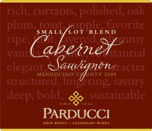 2009 Parducci Small Lot Blend Cabernet Sauvignon
