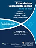 img - for The Washington Manual of Endocrinology Subspecialty Consult book / textbook / text book