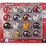 NCAA SEC Conference Pocket Size Helmet Set (16-Piece)